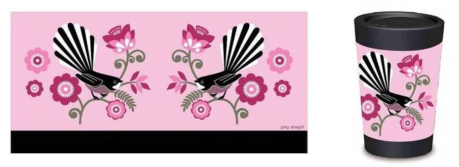Pink Fantail